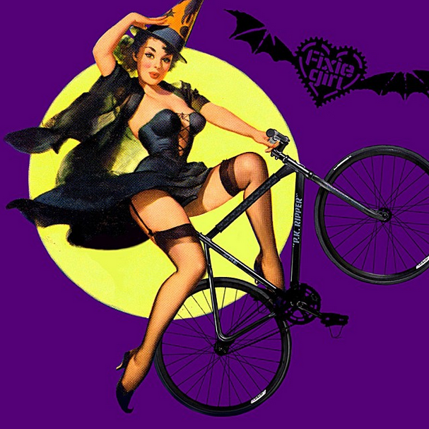 Happy Halloween Fixie Girls