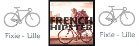 "Playlist ""French Hipster"" de Spotify"