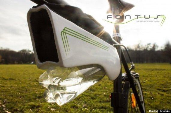 Toujours avoir de l'eau en vélo