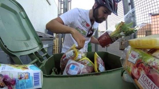 Lutter contre le gaspillage en roulant en vélo