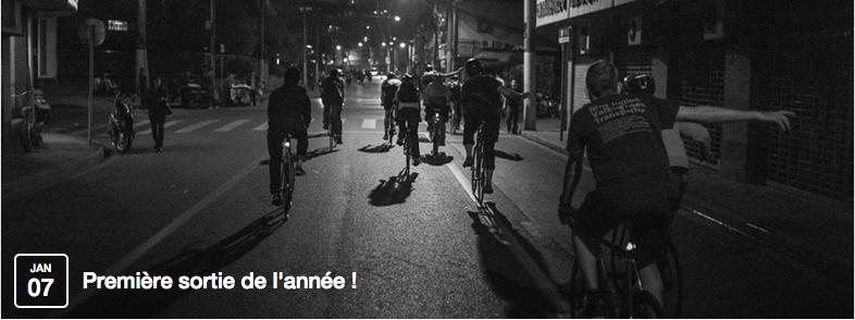 Sortie Fixie à Lille – 1ère sortie de l'année