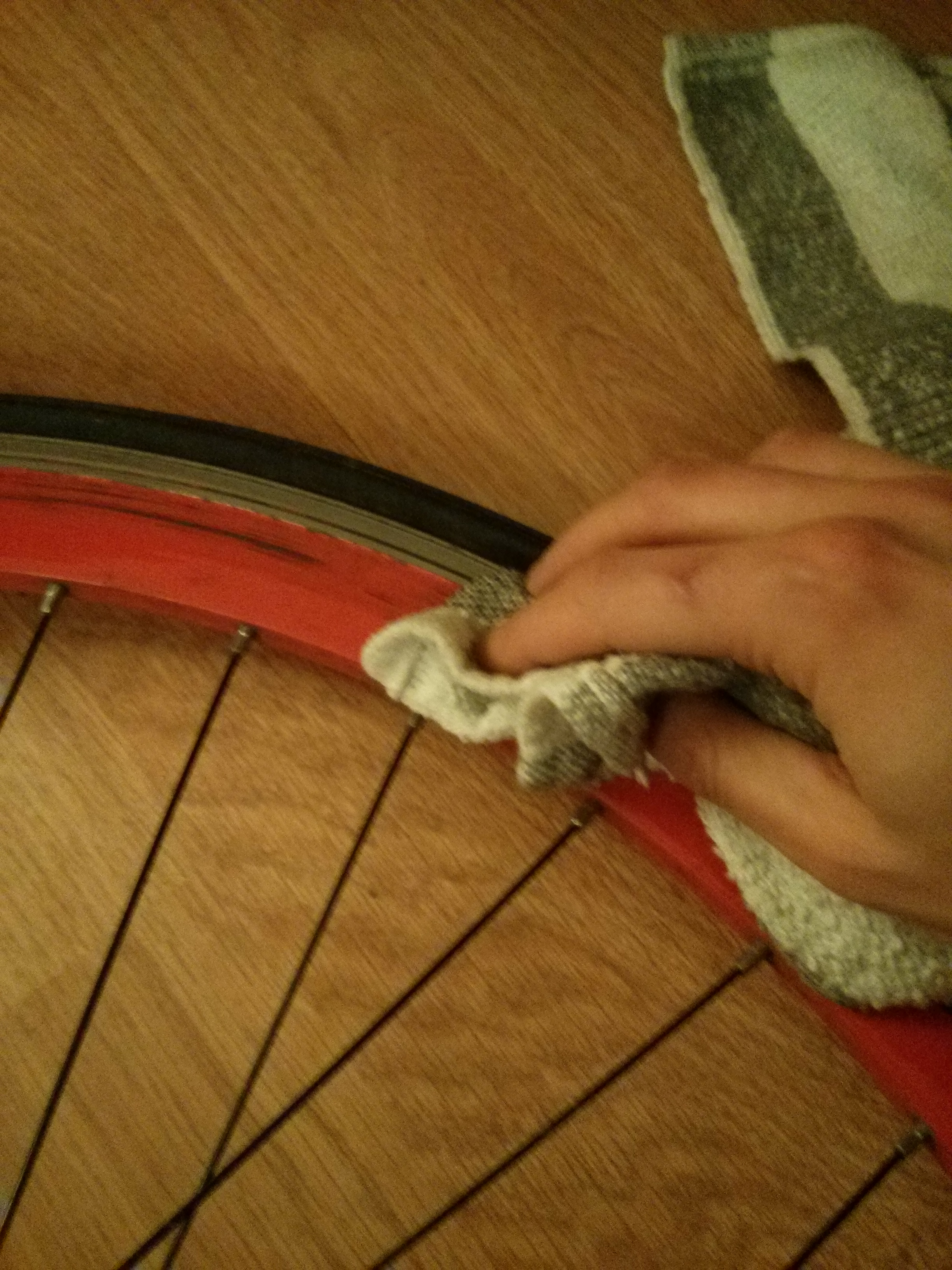Vertus Bike - Tout bien coller