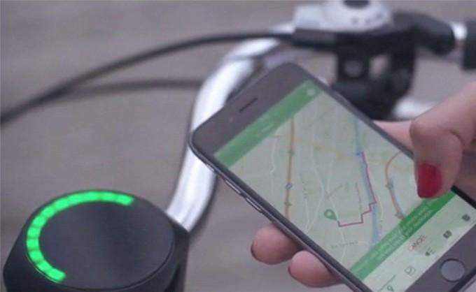 Smarthalo - gadget blutooth pour vélo et fixie