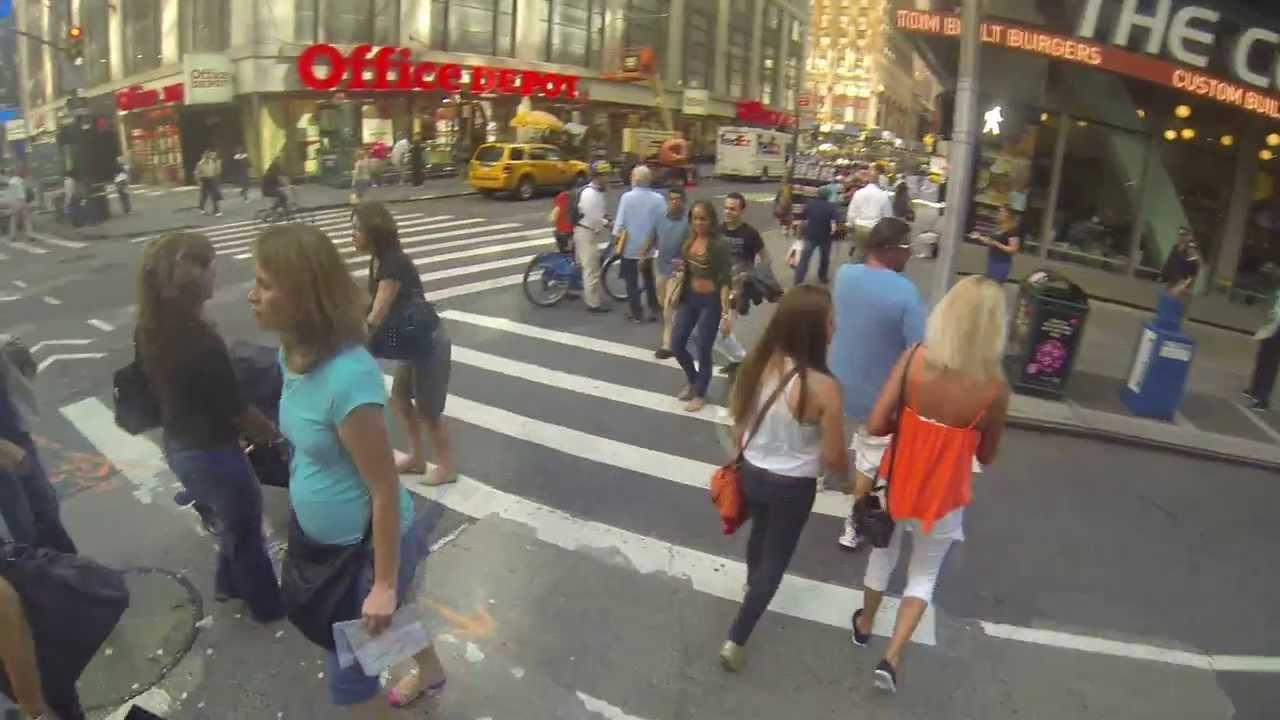 Coursiers New York en vidéo
