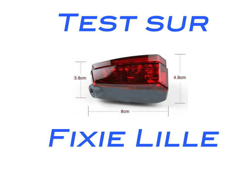 TEST : Lampe vélo arrière – Bande cyclable
