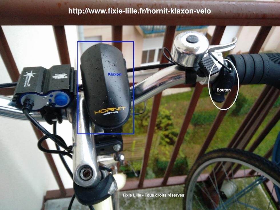 Hornit : le klaxon surpuissant pour vélo