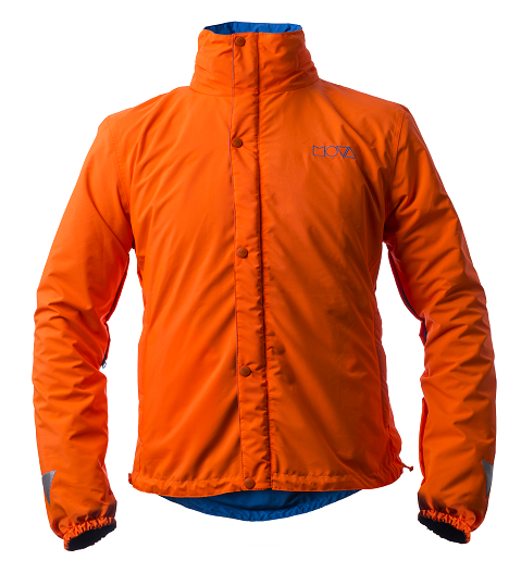 MOVA Cycling Orange - Dernière version de la veste pour cycliste