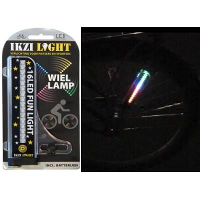 Lumière sur rayon de vélo – Ikzi Light