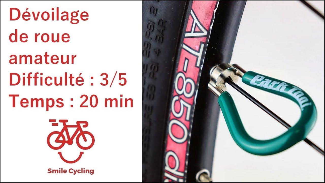 Dévoiler une roue de vélo